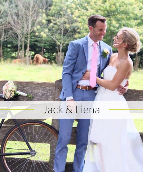Bruiloft Jack & Liena