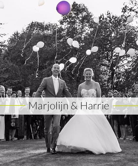 Bruiloft Marjolijn & Harrie